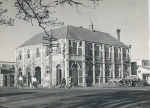 Photo post office minus tower (Image sourced Ashburton Museum)