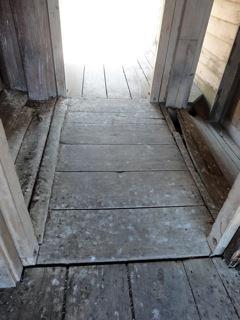 Double Front Doors (ground level)