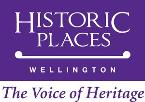 Historic  Places Wellington Purple Logo