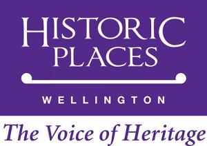Historic  Places Wellington Purple Logo