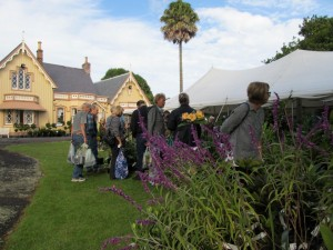 People at last year's Highwic Plant Fair. (Source: NZHPT Media Release)