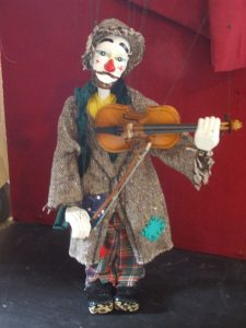 One of John Rew's circus puppets – coming soon to Highway. (Image HNZ Media Release)