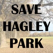save hagley park logo