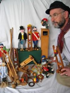 Richard Lees – toymaker extraordinaire.